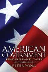 9780205116140-0205116140-American Government: Readings and Cases