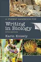 9781319121815-1319121810-A Student Handbook for Writing in Biology