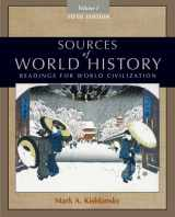 9780495913177-0495913170-Sources of World History, Volume I
