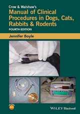 9781118985700-1118985702-Crow and Walshaw's Manual of Clinical Procedures in Dogs, Cats, Rabbits and Rodents