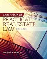 9781285448381-1285448383-Essentials of Practical Real Estate Law