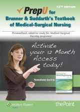 9781469845784-1469845784-Brunner & Suddarth's Textbook of Medical-Surgical Nursing PrepU Access Code
