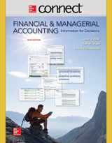 9780077633059-0077633059-Connect 2 Semester Access Card for Financial and Managerial Accounting