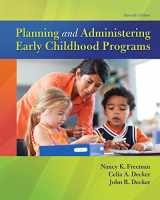 9780134027319-0134027310-Planning and Administering Early Childhood Programs (11th Edition)