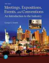 9780134735900-0134735900-Meetings, Expositions, Events, and Conventions: An Introduction to the Industry (What's New in Culinary & Hospitality)