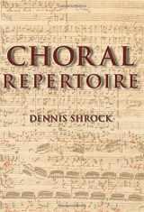 9780195327786-0195327780-Choral Repertoire