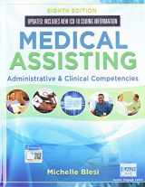 9780357014813-0357014812-Bundle: Medical Assisting: Administrative & Clinical Competencies (Update), 8th + Student Workbook