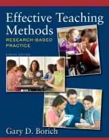 9780132849609-0132849607-Effective Teaching Methods: Research-Based Practice (8th Edition)