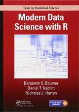 9781498724487-1498724485-Modern Data Science with R (Chapman & Hall/CRC Texts in Statistical Science)