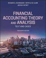 9781119577775-1119577772-Financial Accounting Theory and Analysis: Text and Cases