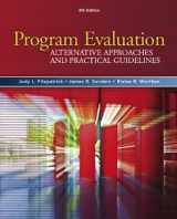 9780205579358-0205579353-Program Evaluation: Alternative Approaches and Practical Guidelines (4th Edition)