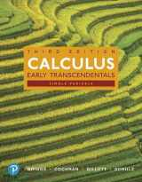 9780134996714-0134996712-Calculus: Single Variable, Early Transcendentals and MyLab Math with Pearson eText -- 24-Month Access Card Package (Briggs, Cochran, Gillett & Schulz, Calculus Series)