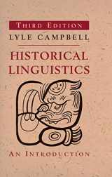 9780262518499-026251849X-Historical Linguistics, third edition: An Introduction (The MIT Press)