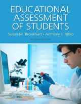 9780133830262-0133830268-Educational Assessment of Students, Pearson eText with Loose-Leaf Version -- Access Card Package (7th Edition)