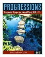 9780205186044-0205186041-Progressions, Book 2: Paragraphs, Essays, and Essentials Study Skills (9th Edition)