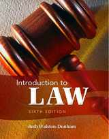9781111311896-1111311897-Introduction to Law, 6th Edition