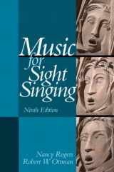 9780205938339-0205938337-Music for Sight Singing