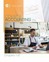 9781305666160-130566616X-College Accounting, Chapters 1-27 (New in Accounting from Heintz and Parry)
