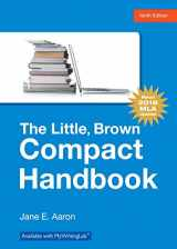 9780134586342-0134586344-Little, Brown, Compact Handbook, The, MLA Update Edition (9th Edition)