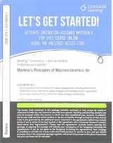 9781337096591-1337096598-MindTap Economics, 1 term (6 months) Printed Access Card for Mankiw's Principles of Macroeconomics, 8th