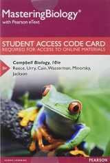 9780321833143-0321833147-Mastering Biology with Pearson eText -- Standalone Access Card -- for Campbell Biology