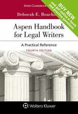 9781454885184-1454885181-Aspen Handbook for Legal Writers: A Practical Reference [Connected Casebook] (Aspen Coursebook)