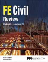 9781591265290-1591265290-PPI FE Civil Review, 1st Edition (Paperback) – A Comprehensive FE Civil Review Manual