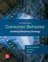 9781260100044-1260100049-Consumer Behavior: Building Marketing Strategy