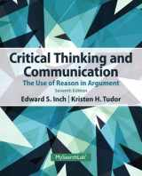 9780205925773-0205925774-Critical Thinking and Communication: The Use of Reason in Argument