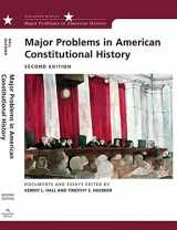 9780618543335-0618543333-Major Problems in American Constitutional History: Documents and Essays (Major Problems in American History Series)