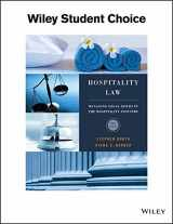 9781119305040-1119305047-Hospitality Law: A Manager's Guide to Legal Issues in the Hospitality Industry