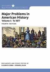 9781305585294-1305585291-Major Problems in American History, Volume I