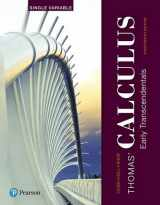 9780134439419-0134439414-Thomas' Calculus: Early Transcendentals, Single Variable