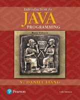 9780134611037-0134611039-Introduction to Java Programming, Brief Version (11th Edition)