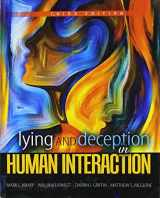9781524970055-1524970050-Lying and Deception in Human Interaction