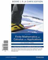 9780133863420-0133863425-Finite Mathematics and Calculus with Applications Books a la carte Edition