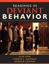 9780205695577-0205695574-Readings in Deviant Behavior