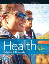 9780134812823-0134812824-Health: The Basics Plus Mastering Health with Pearson eText -- Access Card Package (13th Edition) (What's New in Health & Nutrition)