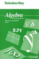 9780395677650-0395677653-Solution Key for Algebra and Trigonometry: Structure and Method: Book 2 (McDougal Littell Structure & Method)