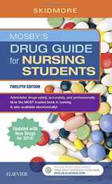 9780323447904-0323447902-Mosby's Drug Guide for Nursing Students with 2018 Update