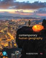 9780134747385-0134747380-Contemporary Human Geography Plus Mastering Geography with Pearson eText -- Access Card Package (4th Edition) (What's New in Geosciences)