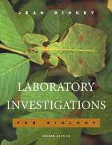 9780805367898-0805367896-Laboratory Investigations for Biology (2nd Edition)