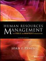 9781118398623-1118398629-Human Resources Management for Public and Nonprofit Organizations: A Strategic Approach