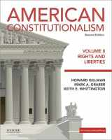 9780190299484-0190299487-American Constitutionalism: Volume II: Rights and Liberties