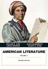 9780134053325-013405332X-American Literature, Volume I (2nd Edition)