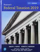 9780134855479-0134855477-Pearson's Federal Taxation 2019 Individuals Plus MyLab Accounting with Pearson eText -- Access Card Package (32nd Edition)