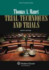 9781454822332-1454822333-Trial Techniques, Ninth Edition (Aspen Coursebook)