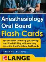9780071714037-0071714030-Anesthesiology Oral Board Flash Cards