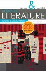 9781337281010-1337281018-PORTABLE Literature: Reading, Reacting, Writing, 2016 MLA Update