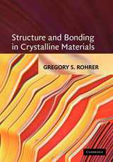 9780521663793-0521663792-Structure and Bonding in Crystalline Materials